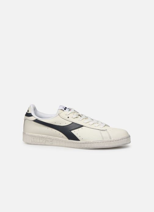 Sneakers Diadora GAME L LOW WAXED Wit achterkant