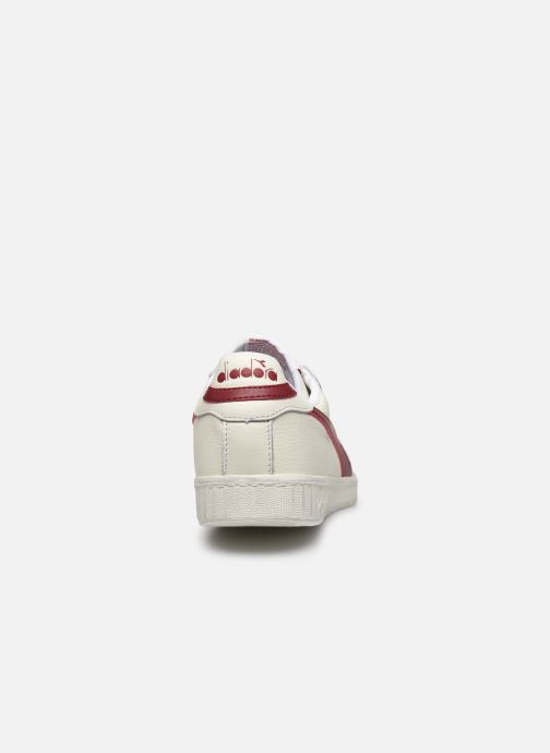 Baskets Diadora GAME L LOW WAXED Blanc vue droite