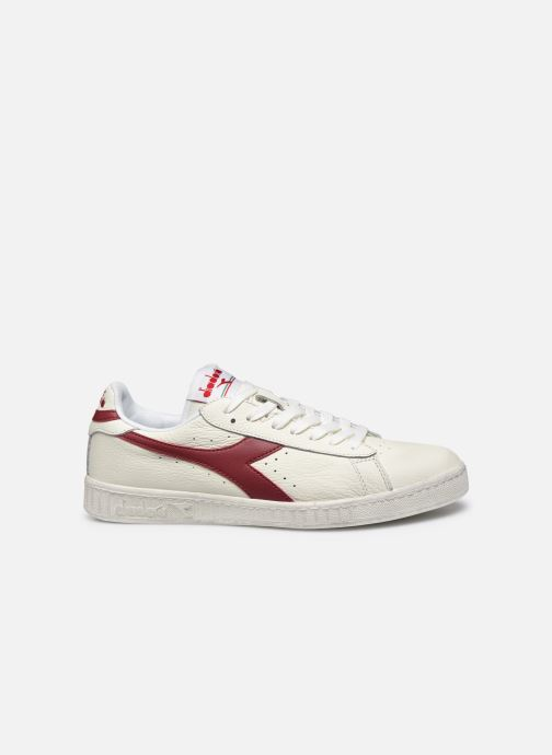 Baskets Diadora GAME L LOW WAXED Blanc vue derrière