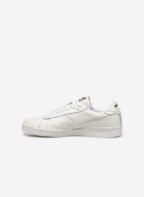 Baskets Diadora GAME L LOW WAXED Blanc vue face