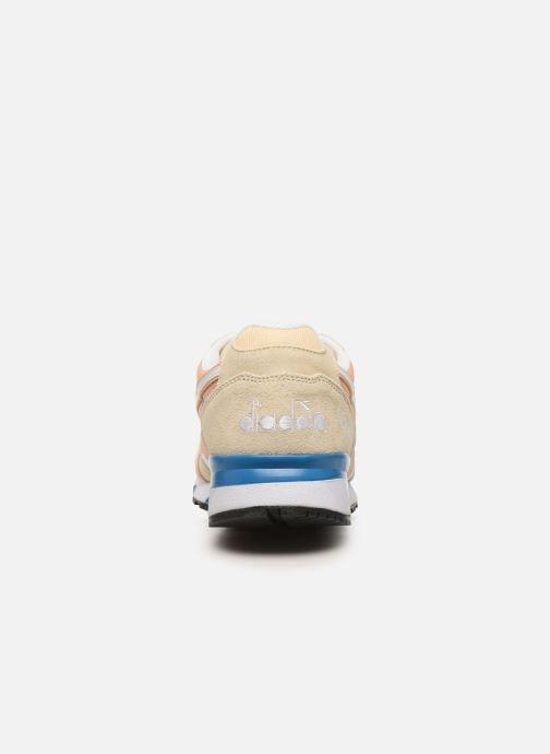 Baskets Diadora N9000 III Beige vue droite