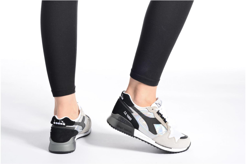 Sneakers Diadora IC 4000 HOLOGRAM Grijs onder