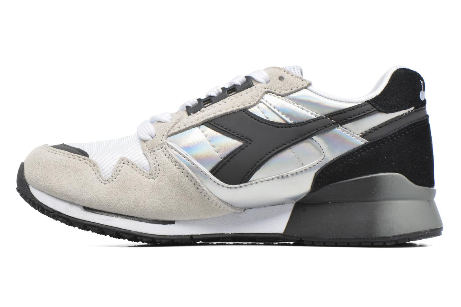 Trainers Diadora IC 4000 HOLOGRAM Grey front view