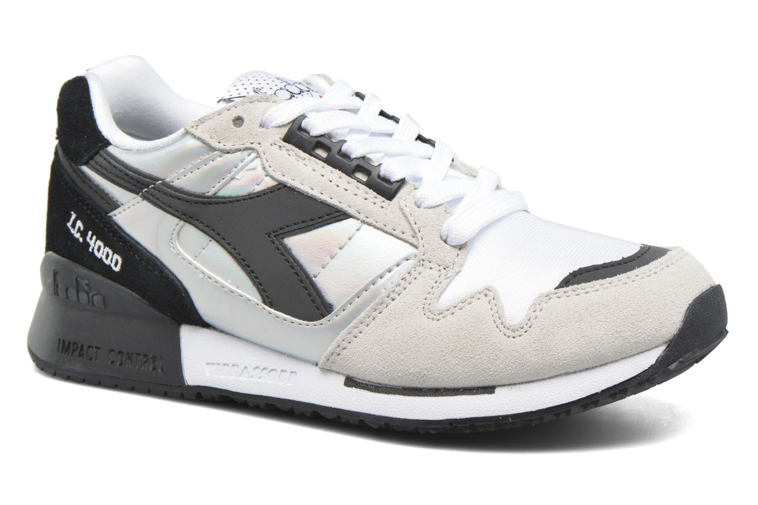 Trainers Diadora IC 4000 HOLOGRAM Grey detailed view/ Pair view