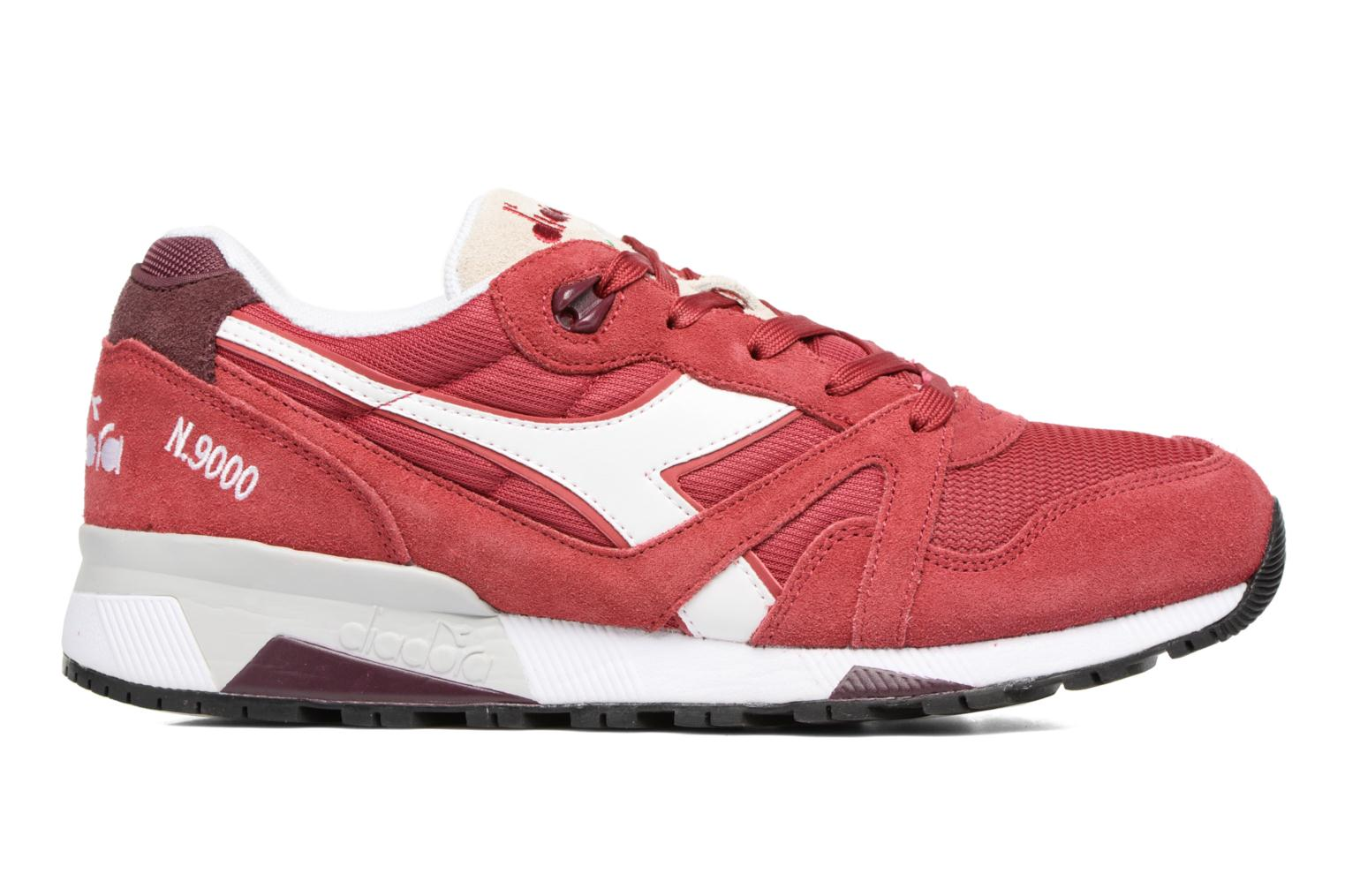 Trainers Diadora N9000 III Red back view