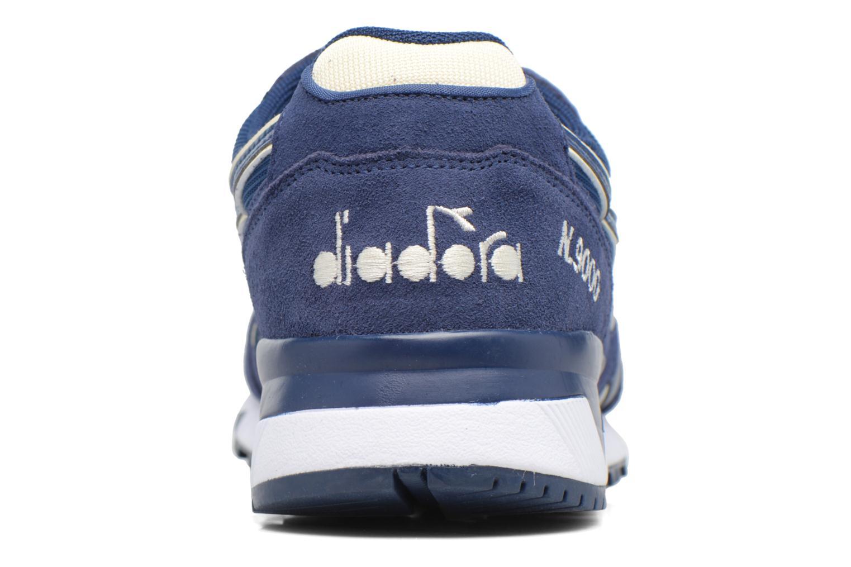 Baskets Diadora N9000 III Bleu vue droite
