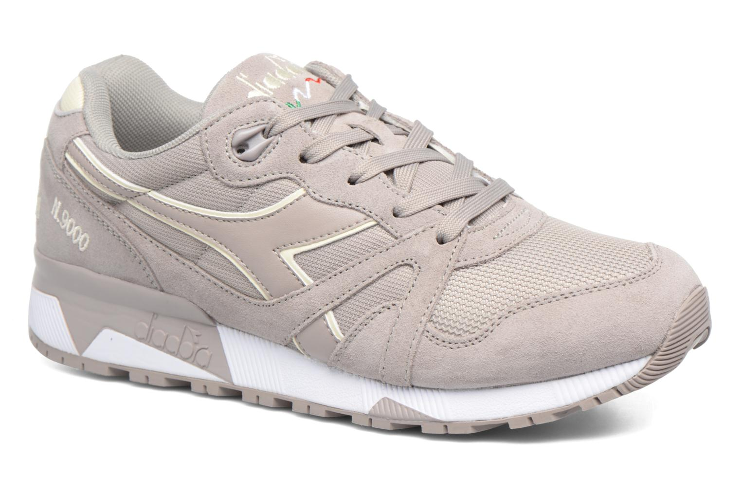 Trainers Diadora N9000 III Grey detailed view/ Pair view