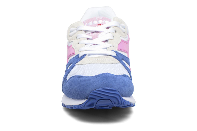 Sneaker Diadora N9000 III rosa schuhe getragen