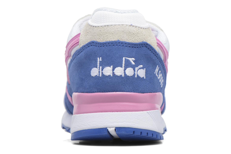 Sneaker Diadora N9000 III rosa ansicht von rechts