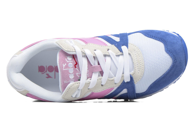 Sneaker Diadora N9000 III rosa ansicht von links