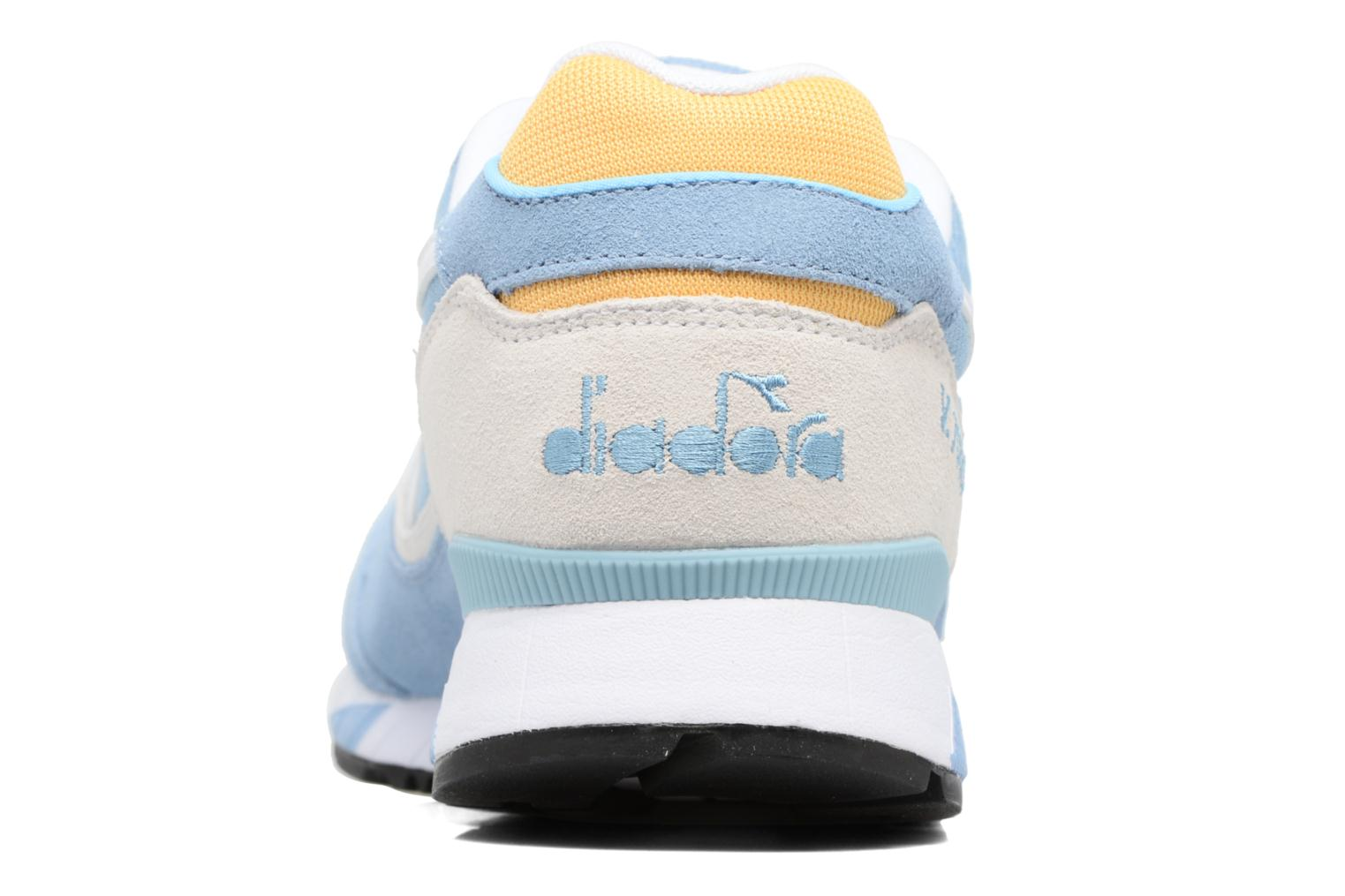 Trainers Diadora V7000 NYL II Blue view from the right