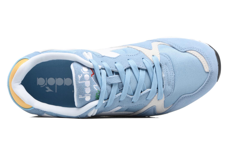Sneakers Diadora V7000 NYL II Azzurro immagine sinistra