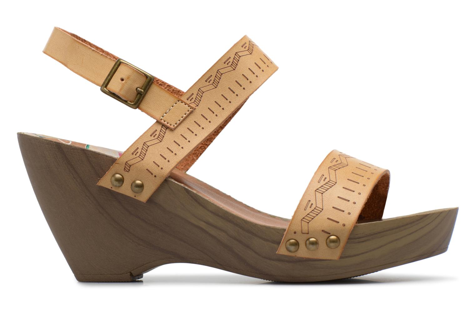 Sandals Coolway Caiman Beige back view