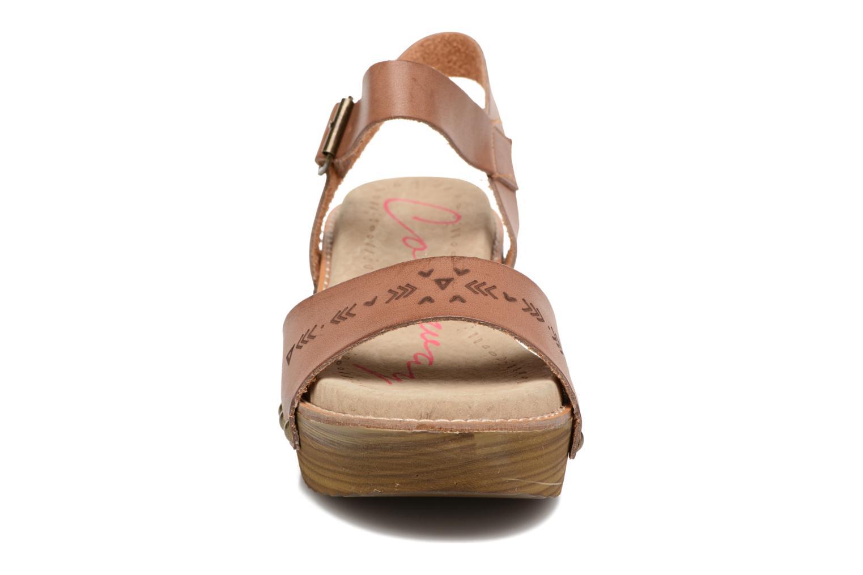 Sandalen Coolway Casidi braun schuhe getragen