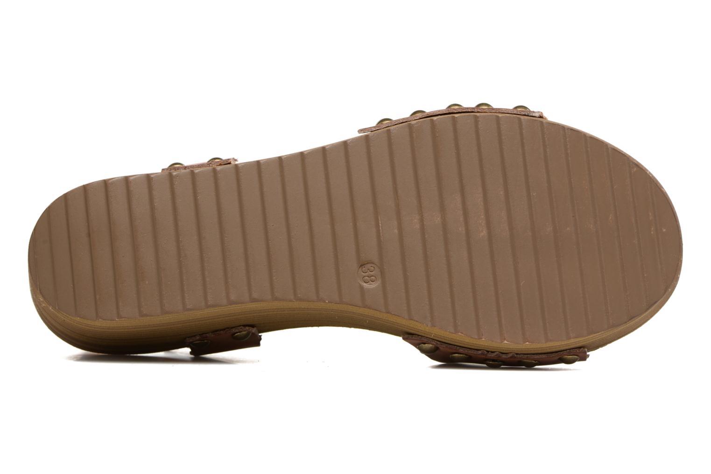 Sandalen Coolway Casidi braun ansicht von oben