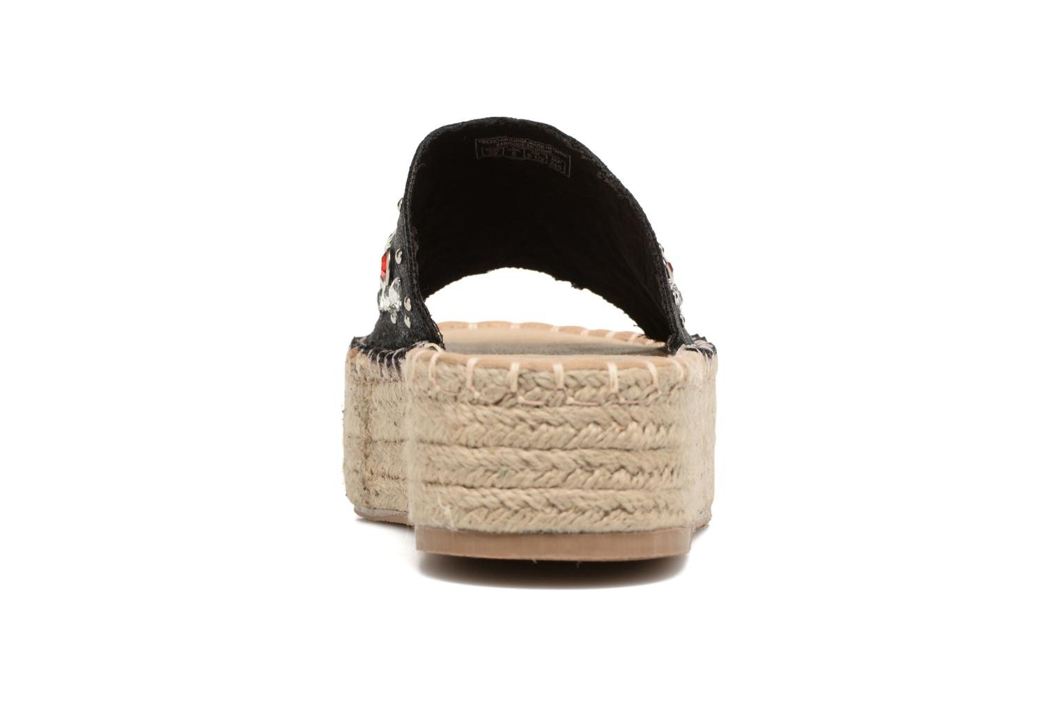 Espadrilles Coolway Jewel Black view from the right