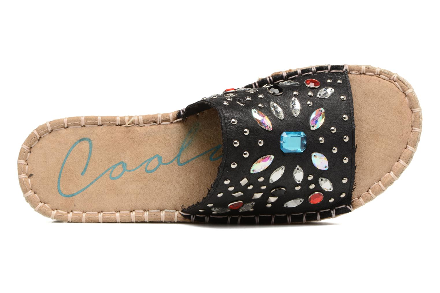 Espadrilles Coolway Jewel Black view from the left