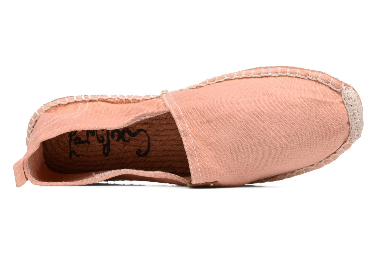 Espadrilles Coolway Jori rosa ansicht von links