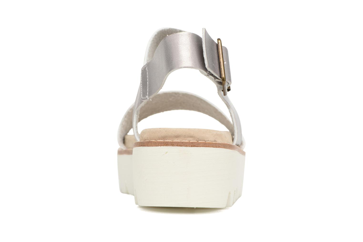 Sandals Coolway Martina Silver view from the right