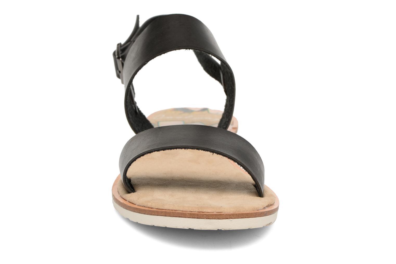 Sandales et nu-pieds Coolway Morel Noir vue portées chaussures