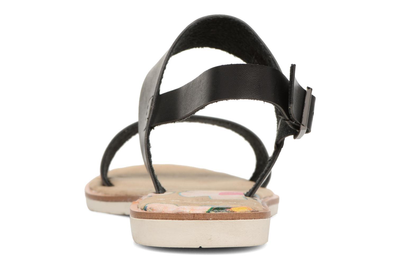 Sandales et nu-pieds Coolway Morel Noir vue droite