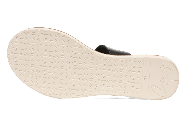 Sandales et nu-pieds Coolway Morel Noir vue haut