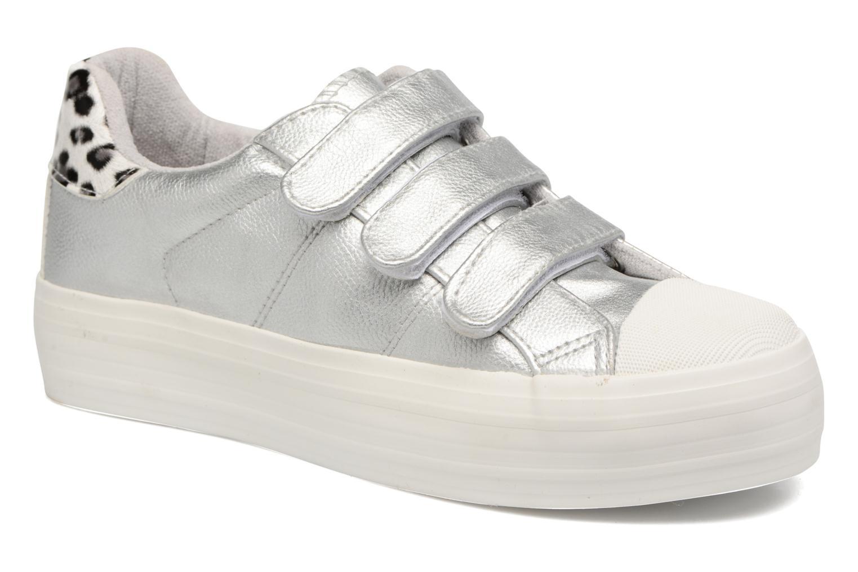 Coolway Tendai (Argent) - Baskets en Más cómodo Chaussures femme pas cher homme et femme