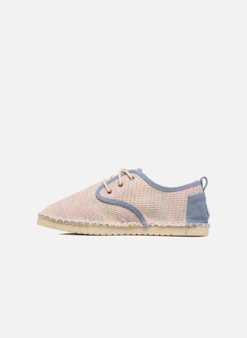 Chaussures à lacets Coolway Trebol Marron vue face
