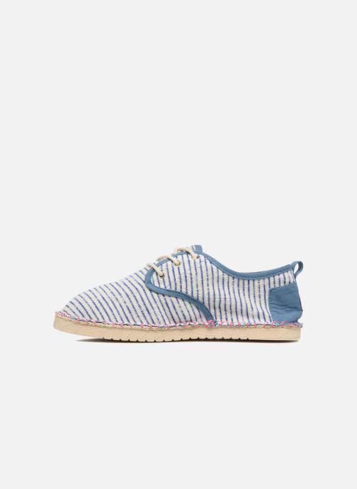 Zapatos con cordones Coolway Trebol Azul vista de frente
