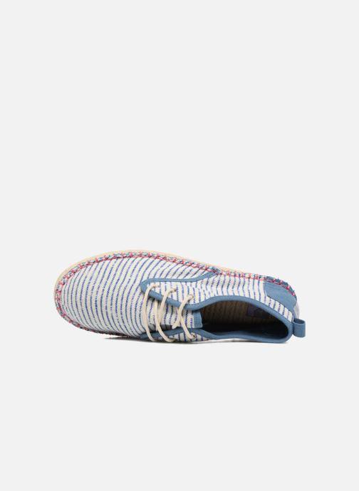 Zapatos con cordones Coolway Trebol Azul vista lateral izquierda