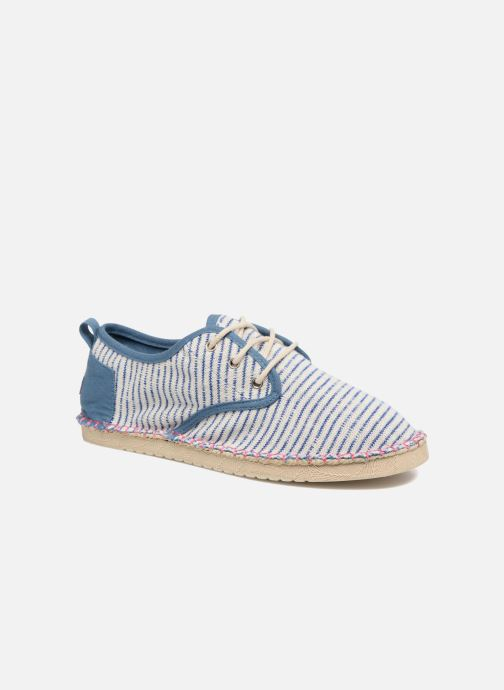 Lace-up shoes Coolway Trebol Blue detailed view/ Pair view