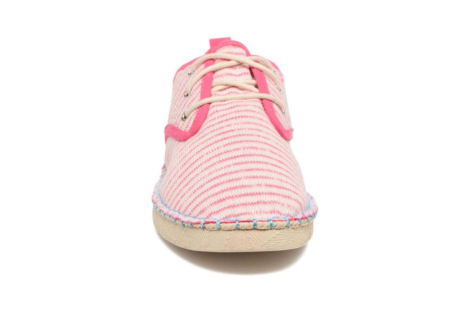 Lace-up shoes Coolway Trebol Pink model view