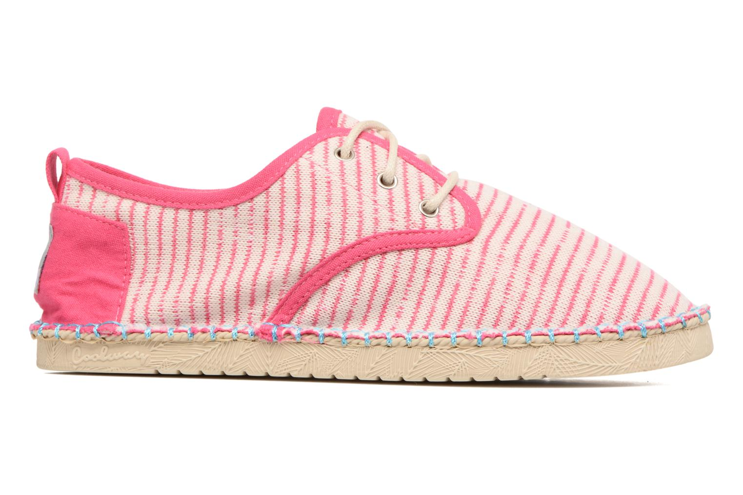 Lace-up shoes Coolway Trebol Pink back view