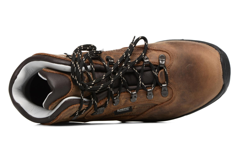 Scarpe sportive Kimberfeel ANKER Marrone immagine sinistra