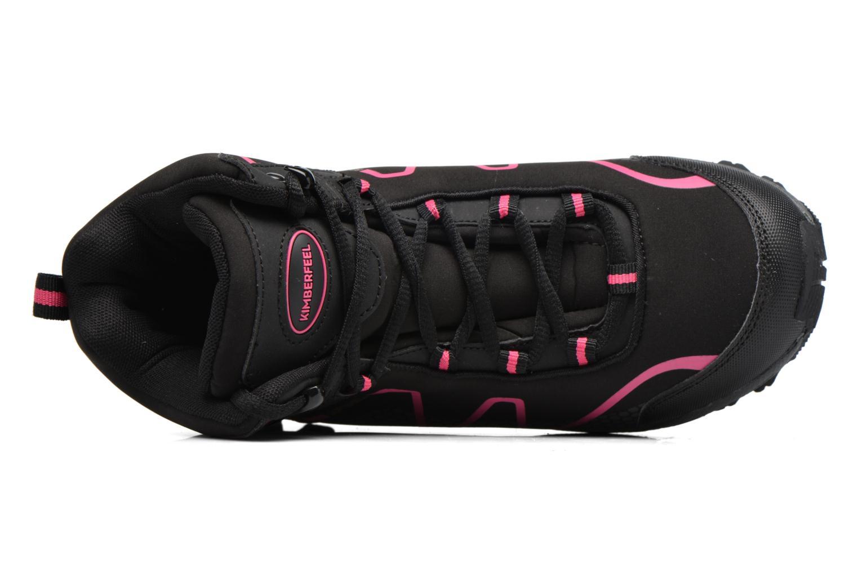 Zapatillas de deporte Kimberfeel MEIGE Rosa vista lateral izquierda