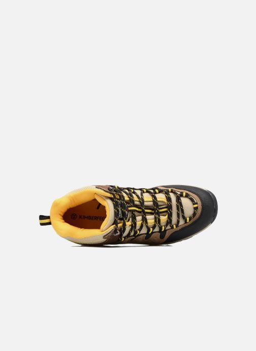 Chaussures de sport Kimberfeel ROBSON Beige vue gauche