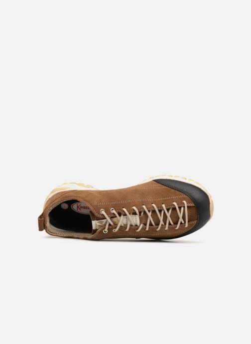 Chaussures de sport Kimberfeel Chogori Marron vue gauche