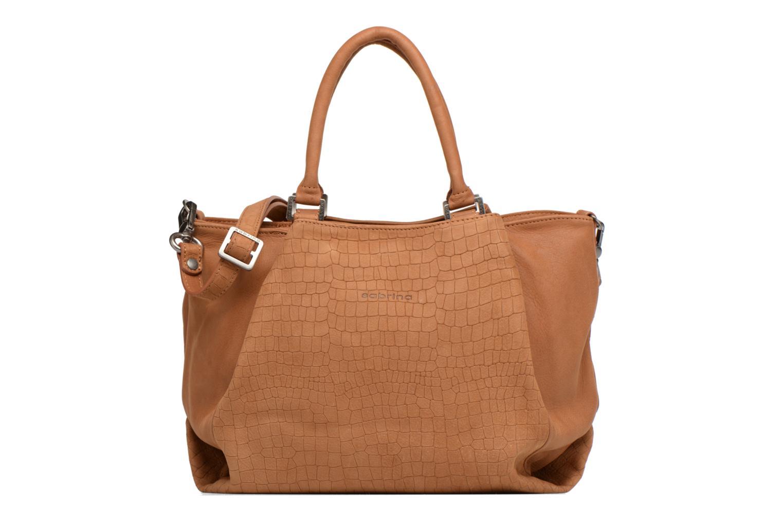 Handbags Sabrina Aliénor croco Brown detailed view/ Pair view