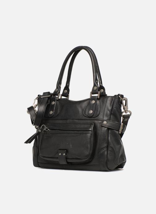 Handtaschen Sabrina Clémentine schwarz schuhe getragen