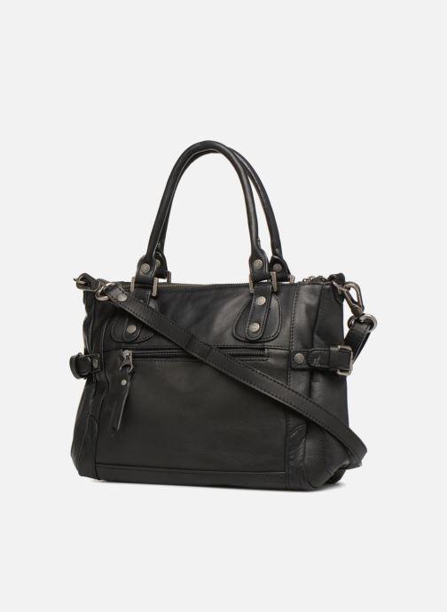 Handtaschen Sabrina Clémentine schwarz ansicht von rechts