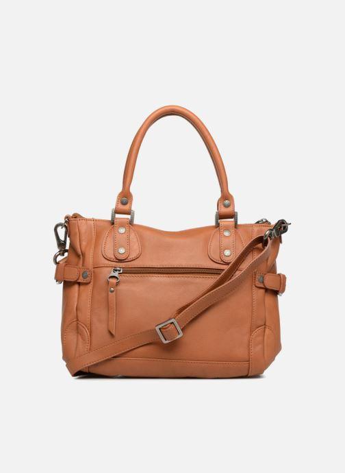 Handtaschen Sabrina Clémentine braun ansicht von vorne