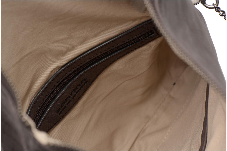 Mini Bags Sabrina Léonie croco grau ansicht von hinten