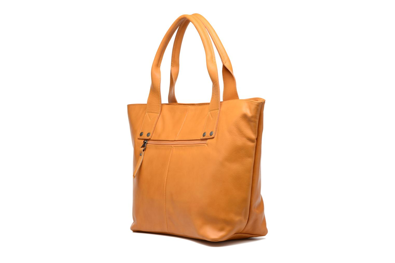 Handbags Sabrina Marianne Yellow view from the right