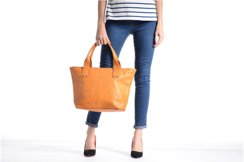 Handtaschen Sabrina Marianne gelb ansicht von oben