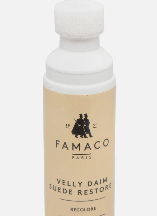 Schuhpflegeprodukte Famaco Velly daim braun ansicht von vorne