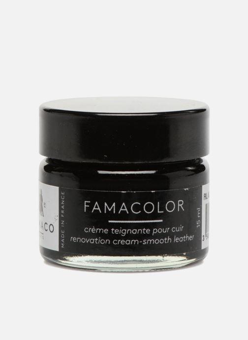 Schuhpflegeprodukte Famaco Teinture solide famacolor 15ml schwarz schuhe getragen
