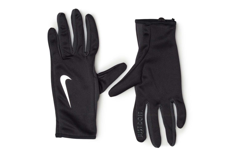 Gants Nike WOMEN'S RALLY RUN GLOVES 2.0 Noir vue détail/paire