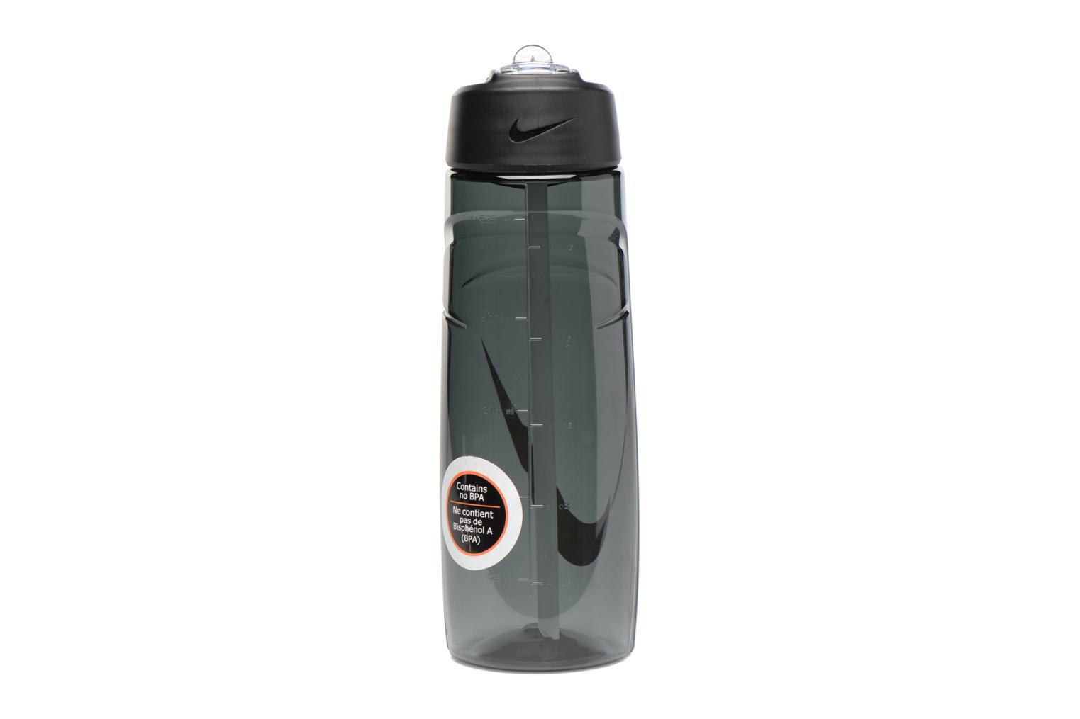 Miscellaneous Nike T1 FLOW SWOOSH WATER BOTTLE 24oz Black front view