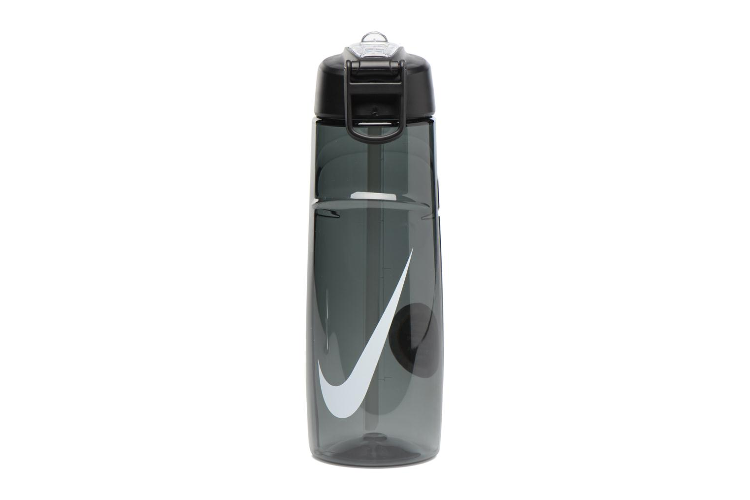 Miscellaneous Nike T1 FLOW SWOOSH WATER BOTTLE 24oz Black detailed view/ Pair view