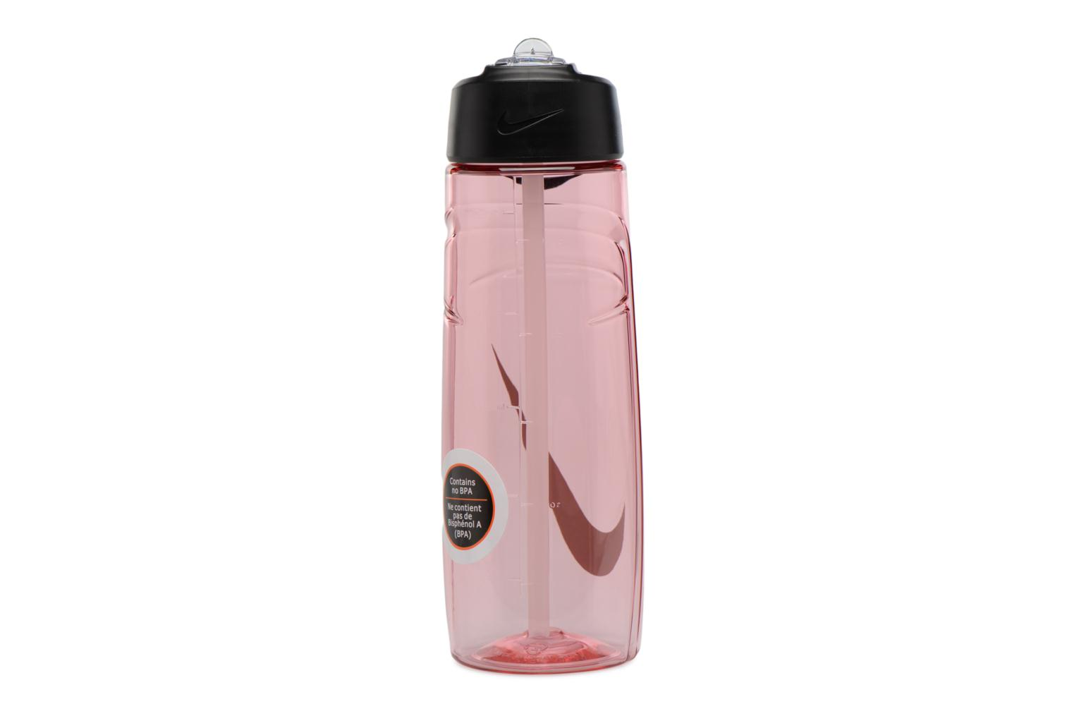 Miscellaneous Nike T1 FLOW SWOOSH WATER BOTTLE 24oz Pink front view